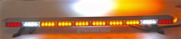 Amber LED Light Bar Warning Light Emergency Lightbar