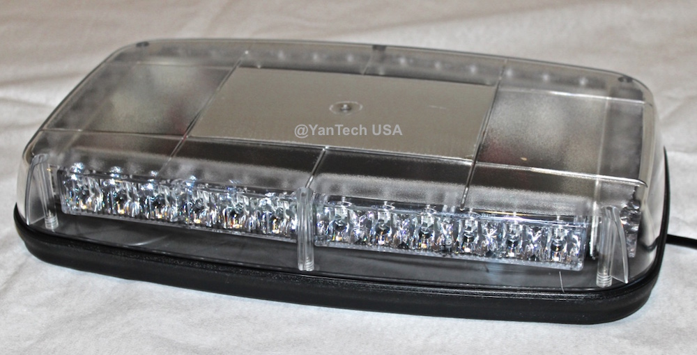 14 Amber Led Mini Light Bar