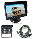 """5"""" LCD Color Rear View Backup Camera System with CCD Rear View Video Camera 700 TVL 120° View"""
