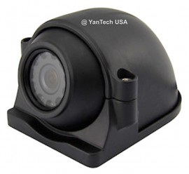 CCD COLOR SIDE VIEW CAMERAS-HIGH RESOLUTION 700TV LINE NIGHT VISION 12 IR LENS - with 4-Pin Connector