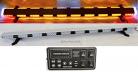 "56"" Amber LED Light Bar Flashing Warning Tow Truck Plow Wrecker Police Car Flat Bed EMS w/ ALLEY & BRAKE/TAIL/TURN SIGNAL LIGHTS"