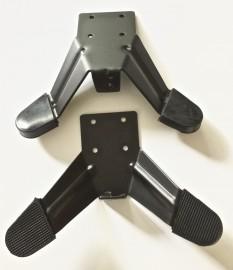 Black Lightbar Mounting Legs (a pair)