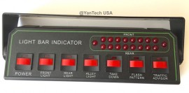 LED Light Bar Universal Control Box K868