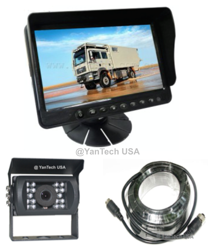 """5"""" LCD Color Rear View Backup Camera System with CCD Rear ..."""